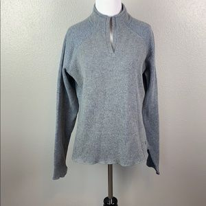Mountain hardware polyester wool blend sweater